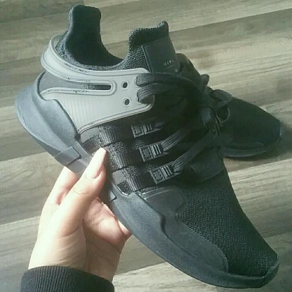 Black adidas EQT ortholite cc777e955